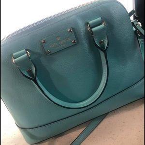 Kate Spade Rachelle Blue Wellesley Handbag
